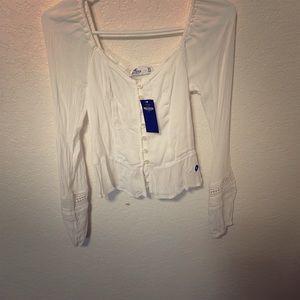 Brand new Hollister long sleeve women's shirt